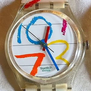 Vintage primary Swatch Watch